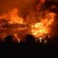 Grote uitslaande brand verwoest monumentale boerderij en twee schuren in Almen