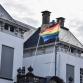 De regio in regenboogkleuren tijdens Pride Week
