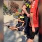 Agent geslagen bij incident zwembad Almen