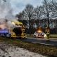 Brandende vrachtwagen zorgt voor verkeershinder op N346 bij Warnsveld