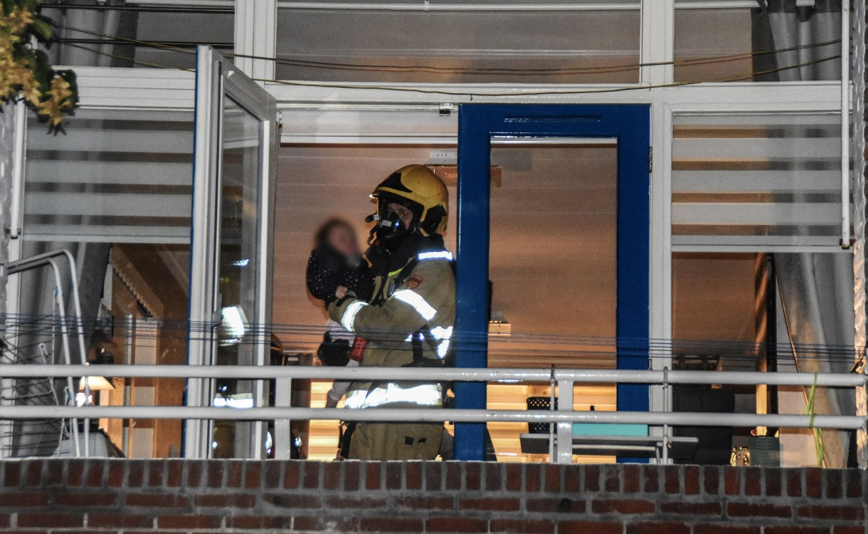 Flat in Zutphen ontruimd vanwege brand in soutterain