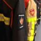 Brandweer rukt uit voor forse bermbrand langs IJssel