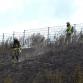 Natuurbranden langs het Twentekanaal in Zutphen