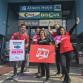 FNV voert actie bij Zutphense supermarkt tegen 'loondiefstal'