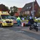 Pizzakoerier gewond na aanrijding op rotonde Zutphen