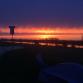 De regio werd getrakteerd op een fotogenieke zonsopgang