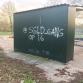 Gemeente Brummen 'vergeet' ondergekladde jongerenontmoetingsplek schoon te maken