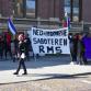 Veel politie op de been en deel Zutphense binnenstad afgezet door rechtszaak