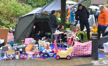Zo'n 30.000 mensen bezochten de Koningsmarkt in Warnsveld