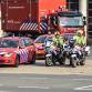 Hulpdienstenpeleton trekt door Zutphen