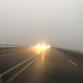 Code geel vanwege dichte mist, weggebruikers gewaarschuwd