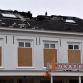 Storm treft afgebrand pand in Brummen: omgeving afgesloten