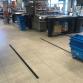 Supermarkten nemen maatregelen om afstand tussen klanten te bewaren
