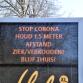 Zutphen waarschuwt: 'Houd afstand van elkaar'