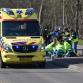 Bestelbus schept wielrenner bij gevaarlijke oversteek Warnsveld