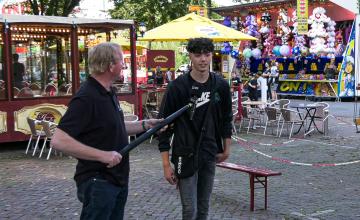 Corona-kermis in Zutphen is geopend, bezoekers zijn tevreden