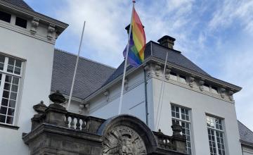 Coming out day: de regenboogvlag wappert in de regio