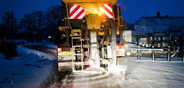 Code geel vanwege gladheid op de weg, automobilisten gewaarschuwd
