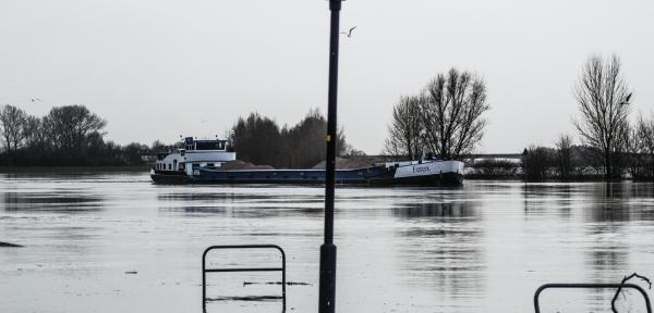 Ooit (begin dit jaar) zat er nog wel water in de IJssel