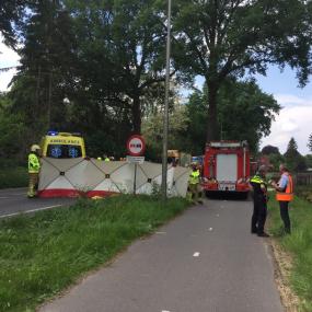 Opnieuw een ongeluk op de N348, buurtbewoners maken zich zorgen