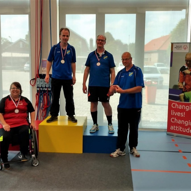 Lochemse tafeltennissers behalen succes op Special Olympics
