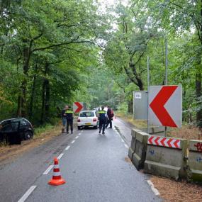 Frontale botsing bij omstreden roadblocks