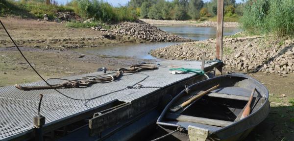 In Gorssel liggen de bootjes echt op het droge