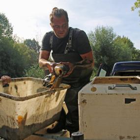 Gemeente Brummen red vissen uit Park 't Goor