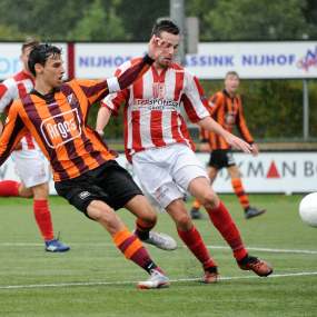 FC Zutphen verloor zuur van IJ.V.V.