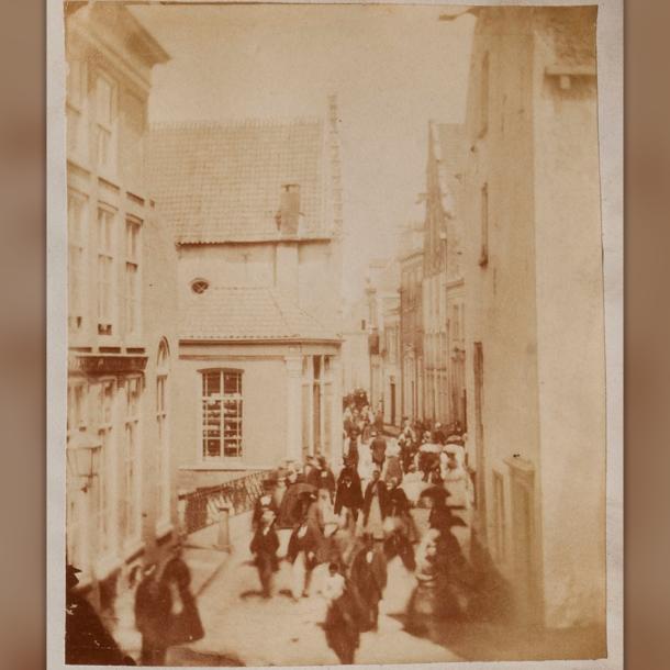 Bijzondere historische foto van Zutphense Turfstraat gevonden