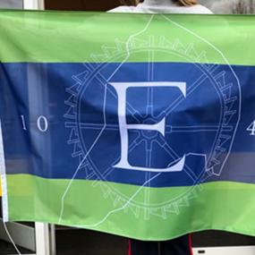 Eerbeek kan trots zijn: ze hebben een eigen vlag