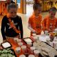 Er werd gesport in oranje kleding tijdens de Koningsspelen