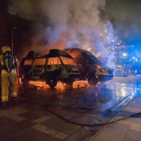 Camper brandt volledig uit in Zutphen
