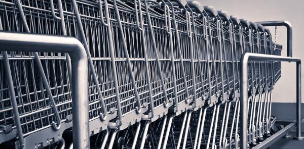 Supermarkt waar mensen uit de regio vaak komen in gevaar