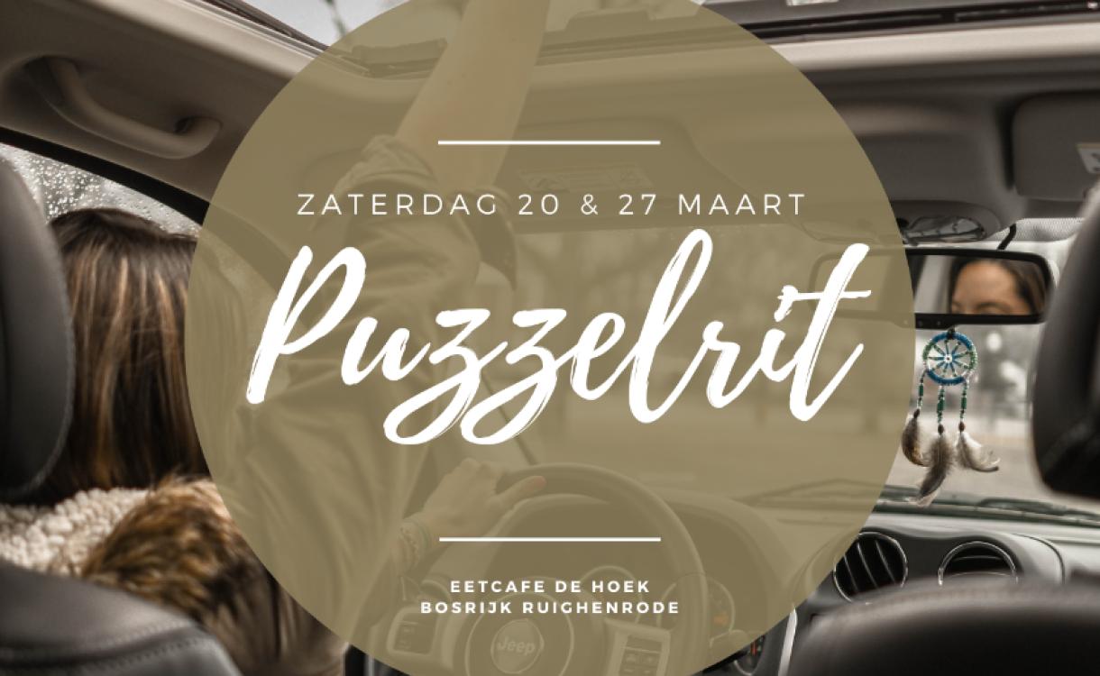 Er wordt een puzzelrit georganiseerd in Gelderland